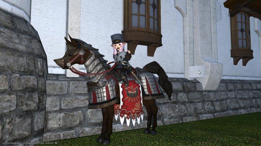 黒渦団 軍馬