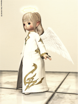 Angelic Attire:Angelic Circlet,Angelic Wings,Angelic Chaplets,Angelic Slops,Angelic Thighboots