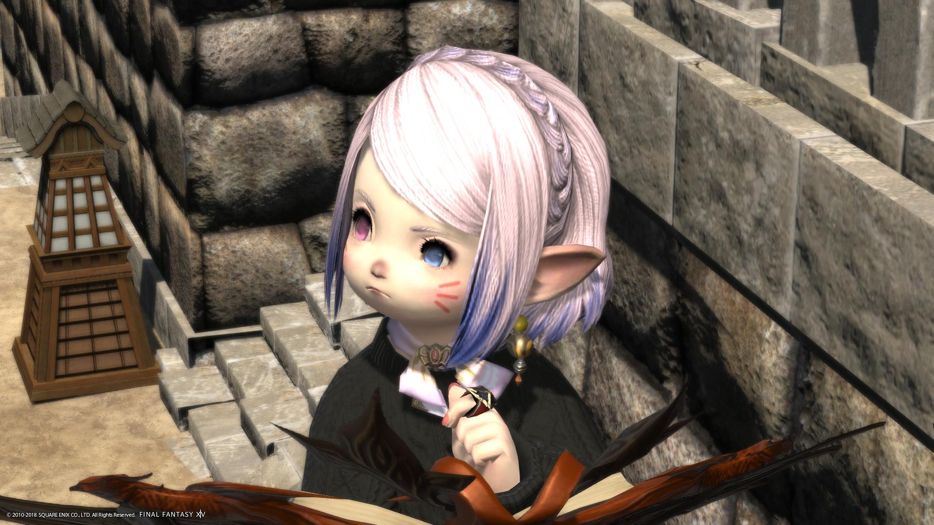 新髪型「編込カチューシャ」買ってよかったぁぁぁ!ララフェル